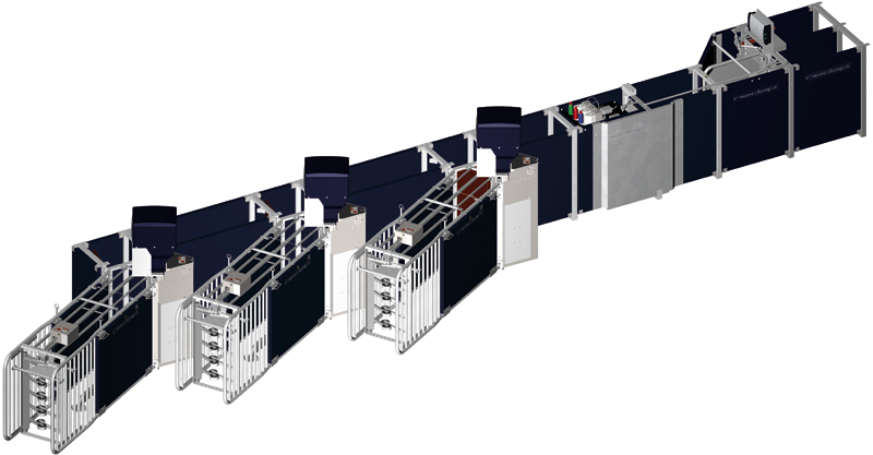 Sistema Alimentação Eletrónica p/ Porcas