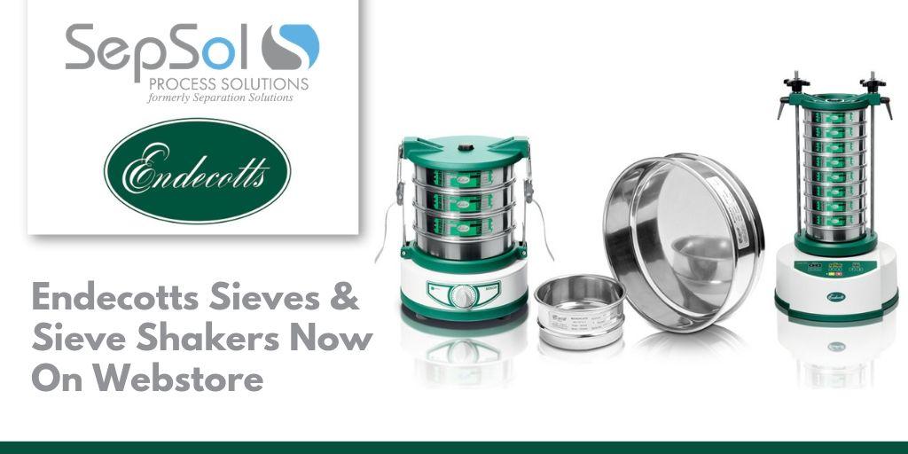 Endecotts Sieves & Sieve Shakers Now On Webstore
