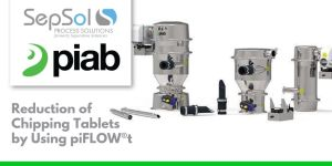 Reduction of Chipping Tablets by Using piFLOW®t
