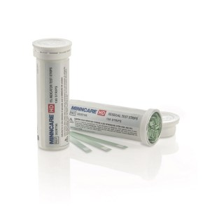 Minncare HD 1% Test Strips