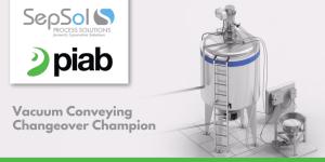 Piab's Vacuum Conveying Changeover Champion