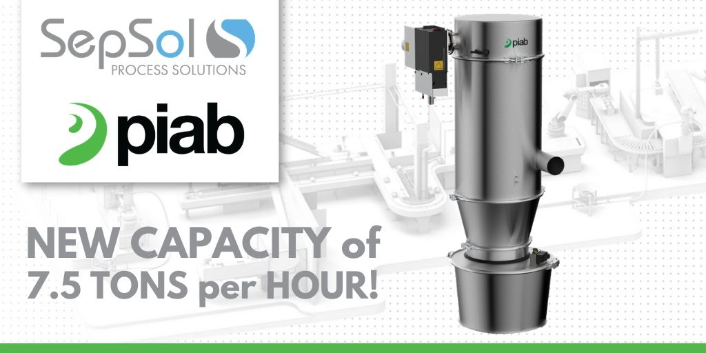 You are currently viewing Piab Extends the piFLOW®I/f Family With the New 28L Vacuum Conveyor