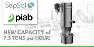 Piab Extends the piFLOW®I/f Family With the New 28L Vacuum Conveyor