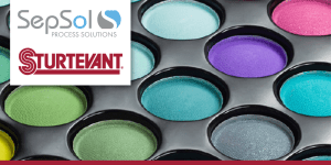 Sturtevant – Micronizer® Jet Mill Increases Production of Pigments for Cosmetics Company