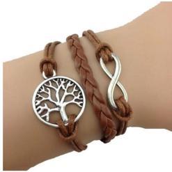 Bracelet Arbre de Vie Cordon Gia