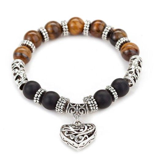 Bracelet oeil de tigre Amour