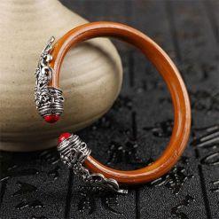 Bracelet Tibétain Bois