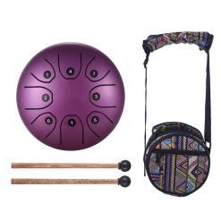 Steel Tongue Drum Violet - Sept Chakras