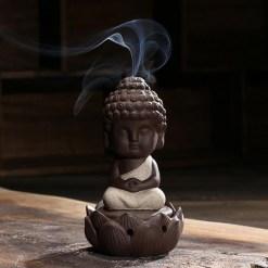 Petit Bouddha Brûleur d'Encens