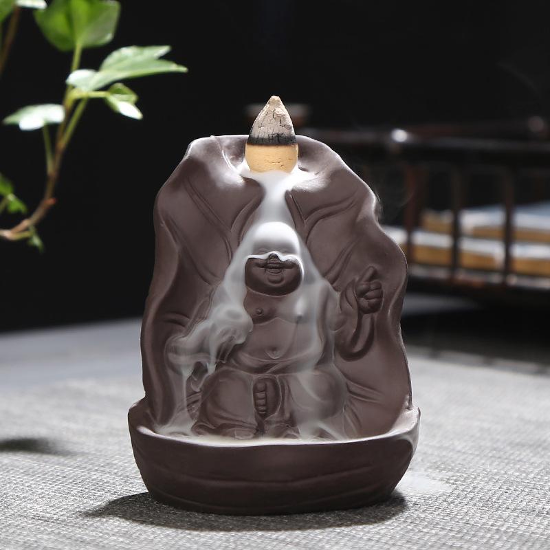 Porte-Encens Bouddha Rieur