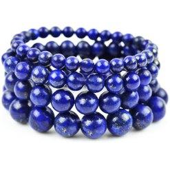 Bracelet en Pierre Lapis Lazuli