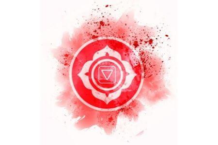 Symbole Chakra racine rouge vertus