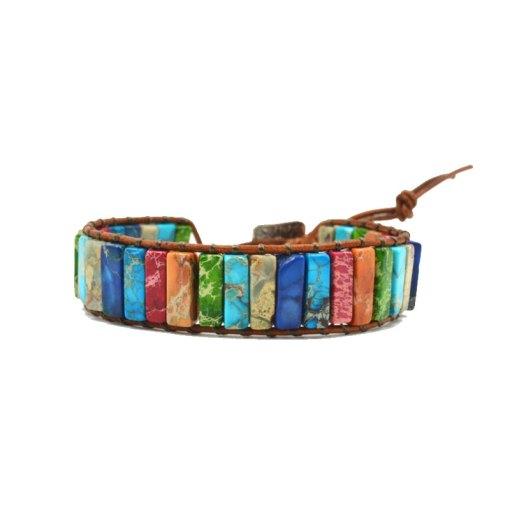 bracelet wrap 7 chakras