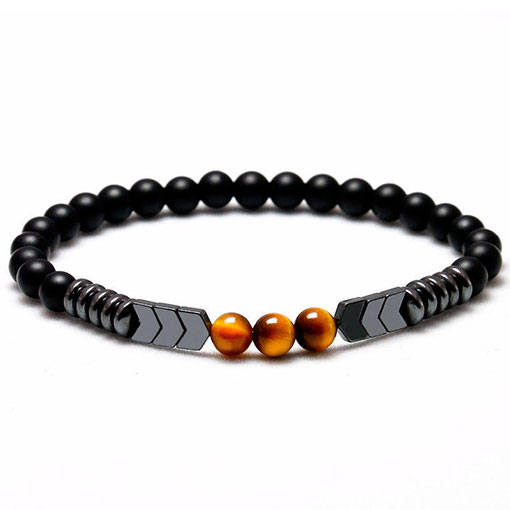 Bracelet Pierre Protection Homme