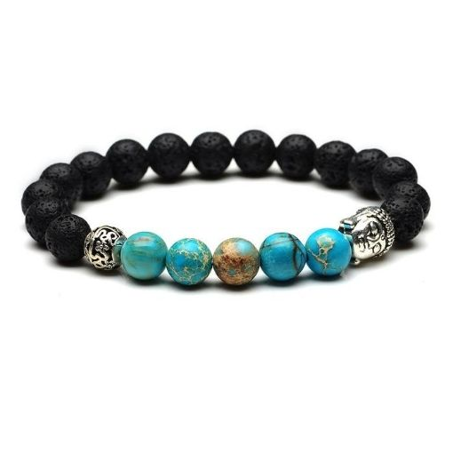 Bracelet Zen Turquoise Bouddha