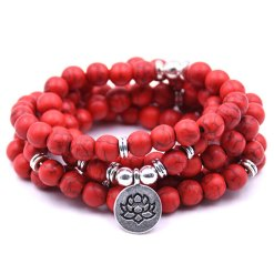 Mala Bracelet Rouge