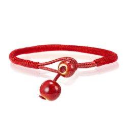 Véritable Bracelet Tibétain Rouge