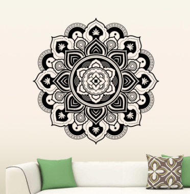 Mandala Mural Fleur Infinie