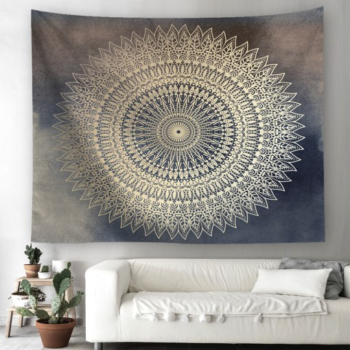 Tenture Mandala Murale Cherokee