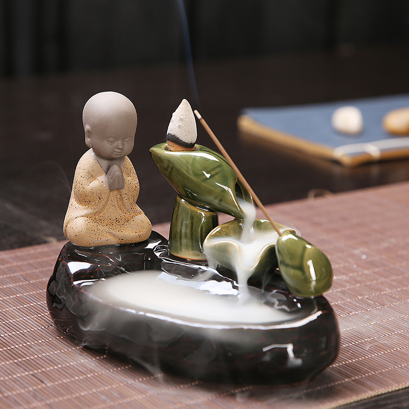 Brûle-Encens Japonais Céramique