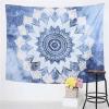 Tenture Mandala Bleu Infinité