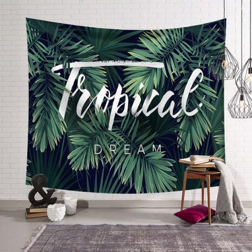 Tenture Murale Nature Tropical