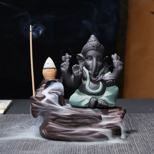Porte-Encens Ganesh Bouddha
