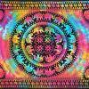Tenture Murale Indienne Multicolore
