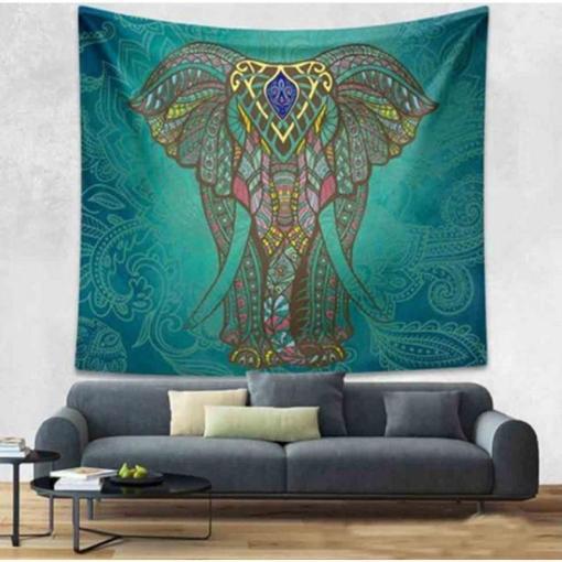 Tenture Éléphant Force