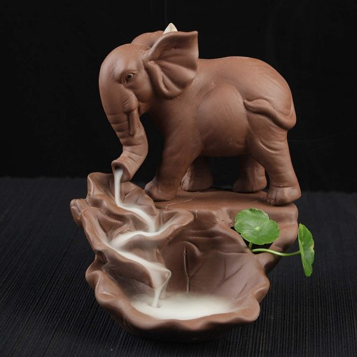 Porte-Encens Éléphant
