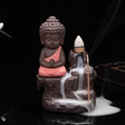 Statue Bouddha Encens