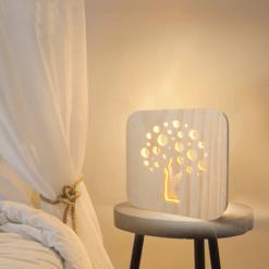 Lampe de Chevet Zen Arbre de Vie
