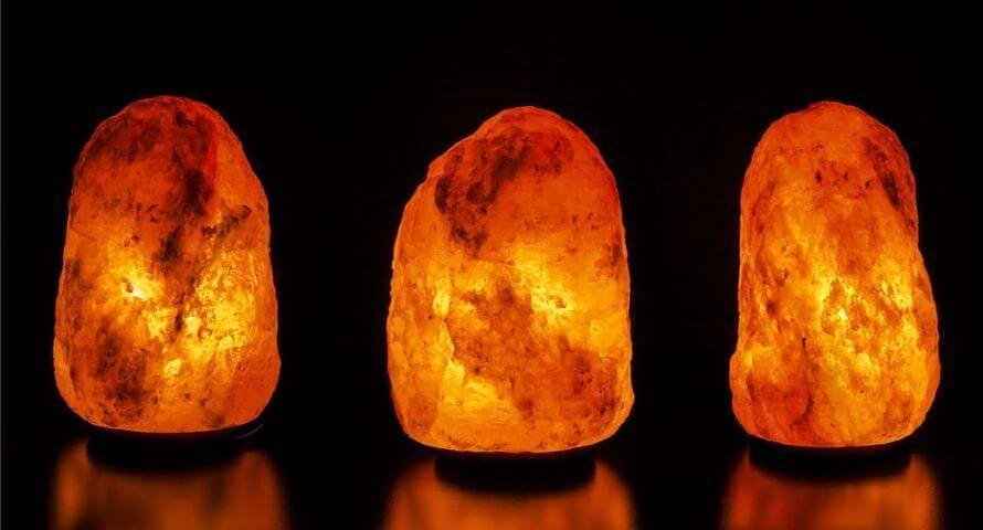 lampe en cristal de sel entretien