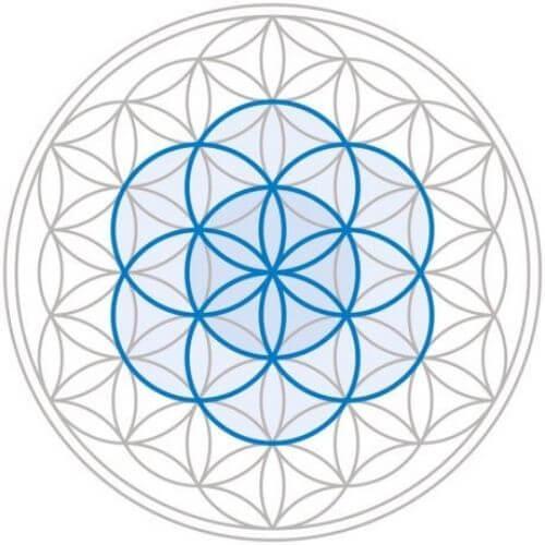 Symbole Tibétain - Fleur de vie signification
