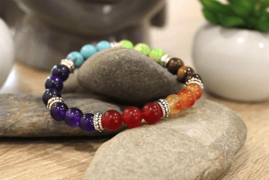 Bracelet 7 chakras signification - Sept-Chakras