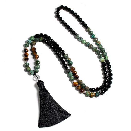 Japa Mala Bracelet - Mala Tibétain - Sept Chakras