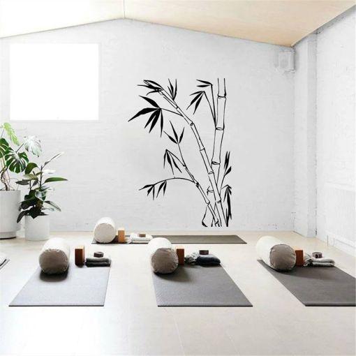 Stickers Bambou Zen - Décoration zen - sept chakras