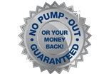 No Septic Tank Pump Out or Your Money Back Guarenteed