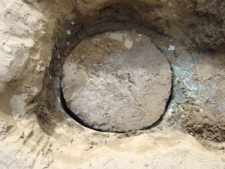 Septic Tank Covered after adding Septic Drain Field Repair treatment