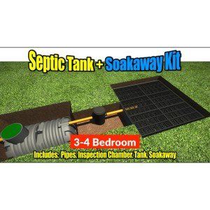 Septic Tank Soakaway Kit 1-2 Bedroom