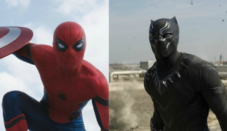 Spider-Man-Black-Panther-in-Civil-War