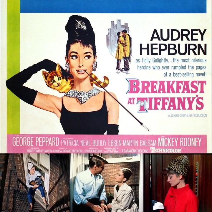 ティファニーで朝食をポスター