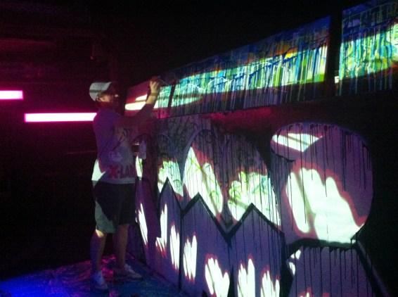 graffiti VR in action