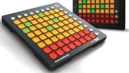 iPad as Launchpad for Ableton Live - Sequencer