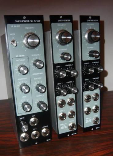 customsynth module roland system 100 grey