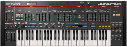 Juno 106 plugin
