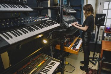 chvrches II studio