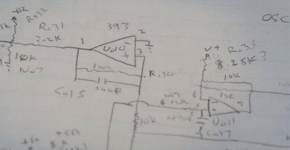 Roland SE02 schematics