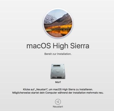 high sierra ready