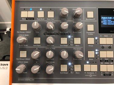 Exodus Valkyrie Synthesizer Musikmesse 20185748